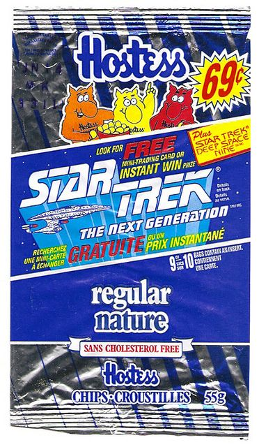 1993 Hostess Frito-Lay Chips Bag Packet Star Trek Generation Instant Win by gregg_koenig, via Flickr