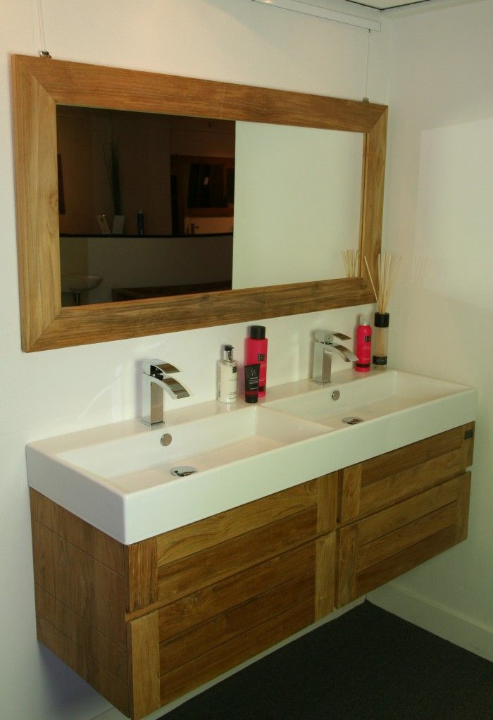 25 beste idee n over dubbele wastafel badkamer op pinterest dubbel wastafelmeubel dubbele - Meubilair vormgeving van de badkamer dubbele wastafel ...