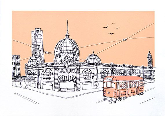 Flinders Street Station Melbourne, Victoria, Australia