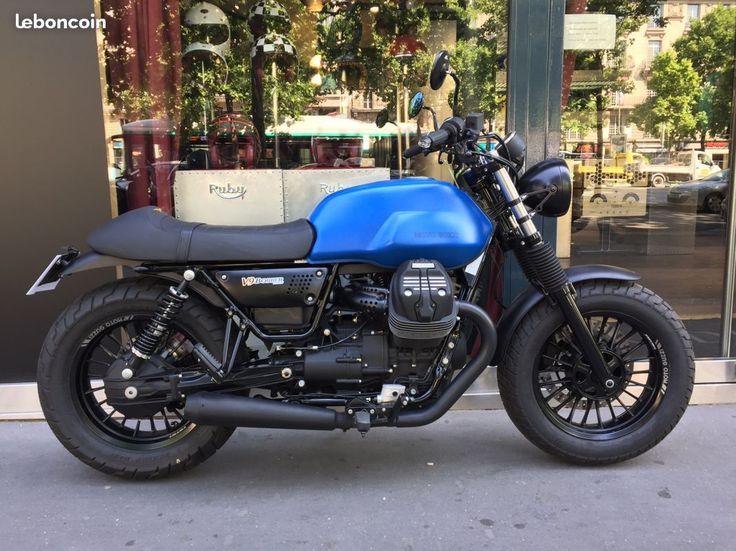 Moto Guzzi V9 Bobber / P2rc Motos Paris - leboncoin.fr