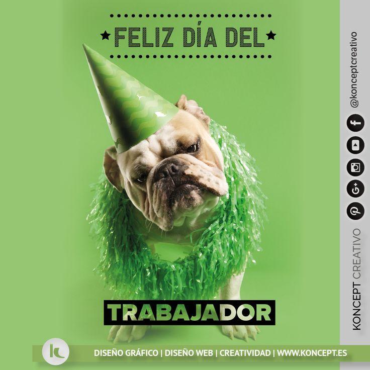 Ohhh yeahhh! Por que nos lo merecemos ¡Feliz día del trabajador! . #trabajo #felizdiadeltrabajador #felizdiadeltrabajo #felizdia #happyday #1demayo #1de #mayo #diseñograficobarcelona #diseñografico #graphicdesigner #graphicdesign #animals #pretty #diseñoweb #party #fiesta #green #dogs #sigueme #followme #rrss #motivacion #metas