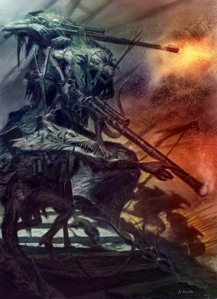 Skaven Bastards by MajesticChicken