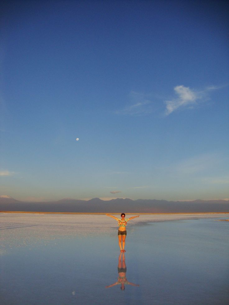 Laguna Tebinquinche, San Pedro de Atacama, Chile.
