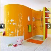 douche italienne dans chambre enfant Leroy merlin