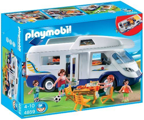 Playmobil - 4859 - Jeu de construction - Grand camping-car familial 36€