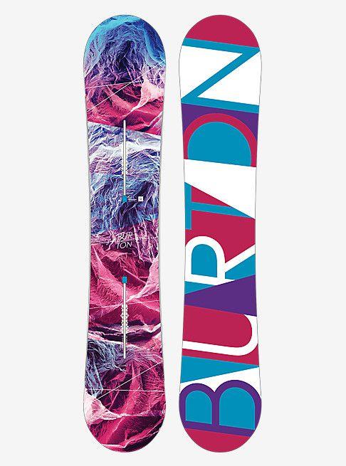 Burton Feelgood Flying V Snowboard | Burton Snowboards Winter 16