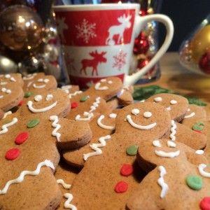 Originele gingerbread- gemberkoekjes / kerst-koekjes / mannetjes | Wessalicious