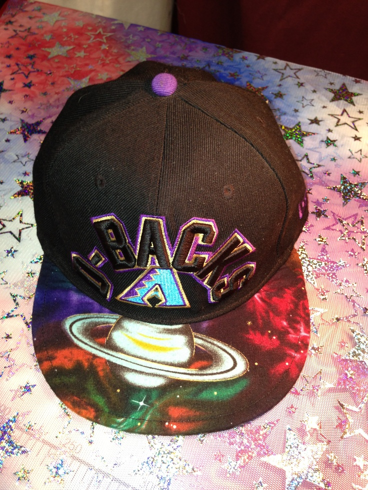 Customized hats top and underbrim changed