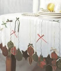 Resultado de imagem para tablecloths christmas