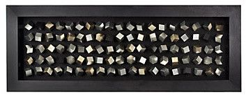 Silver Cubes modern ottomans and cubes