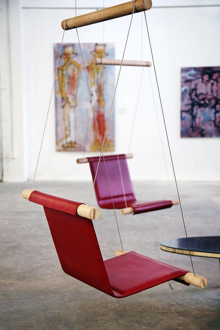 25 ideas destacadas sobre sillas colgantes en pinterest - Sillas colgantes interior ...
