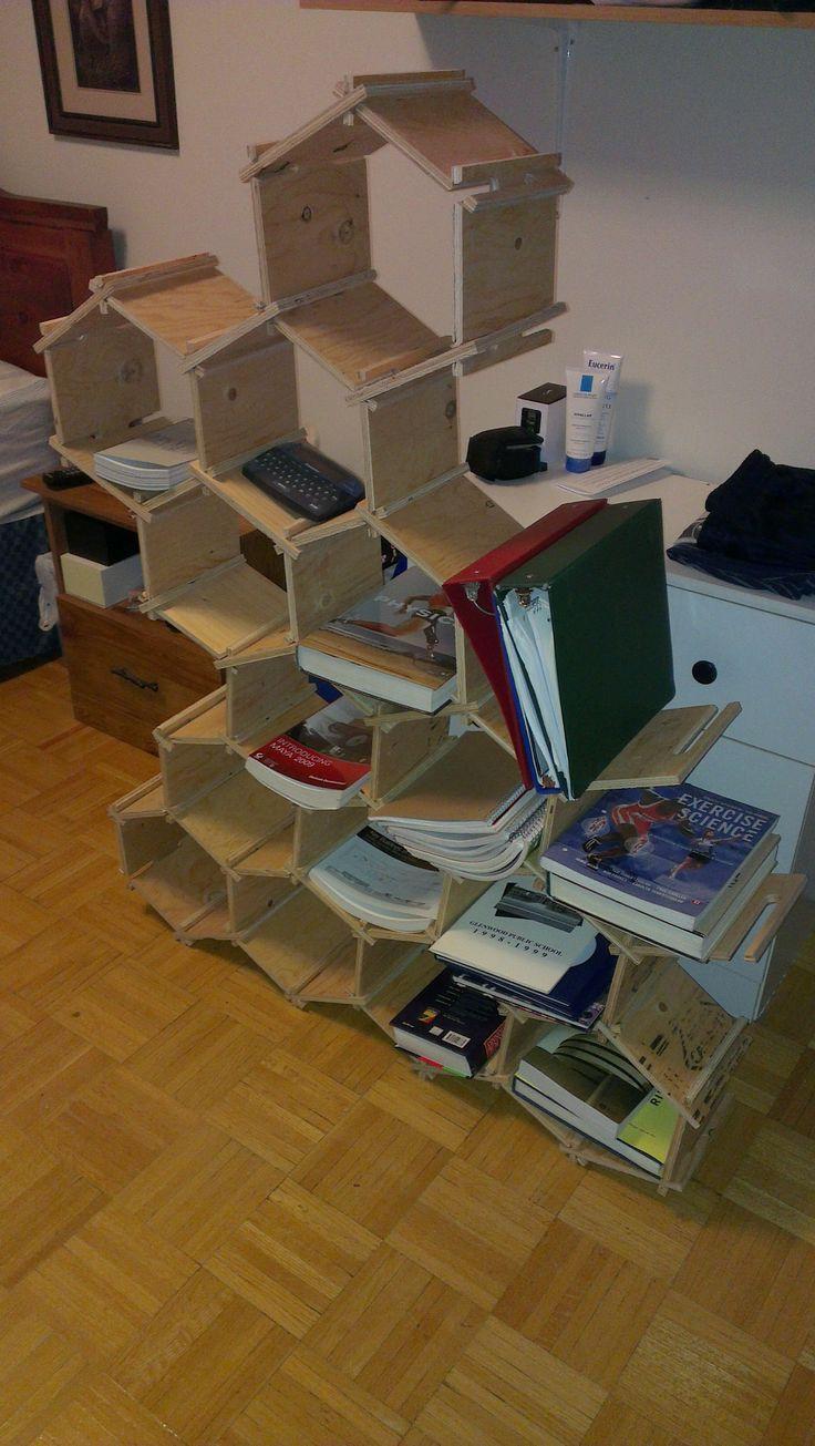 HYVEs in bookshelf form!