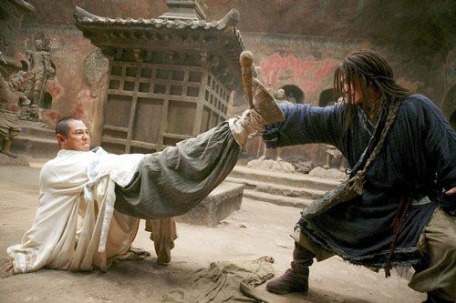 "Scene from ""The Forbidden Kingdom"""