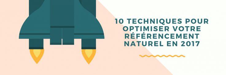 10 techniques de référencement naturel pour 2017