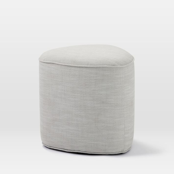 Pebble Ottoman Small With Images Ottoman Ottoman In Living