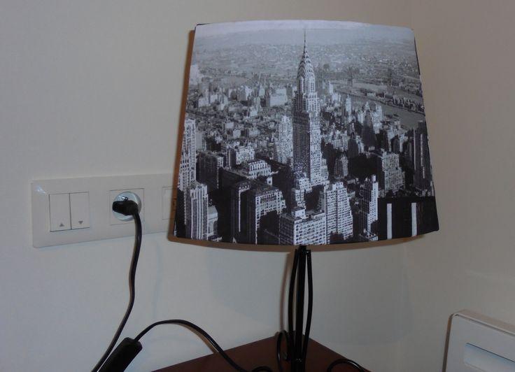une autre face de new york lampes abats jour pinterest abat jour abat et york. Black Bedroom Furniture Sets. Home Design Ideas