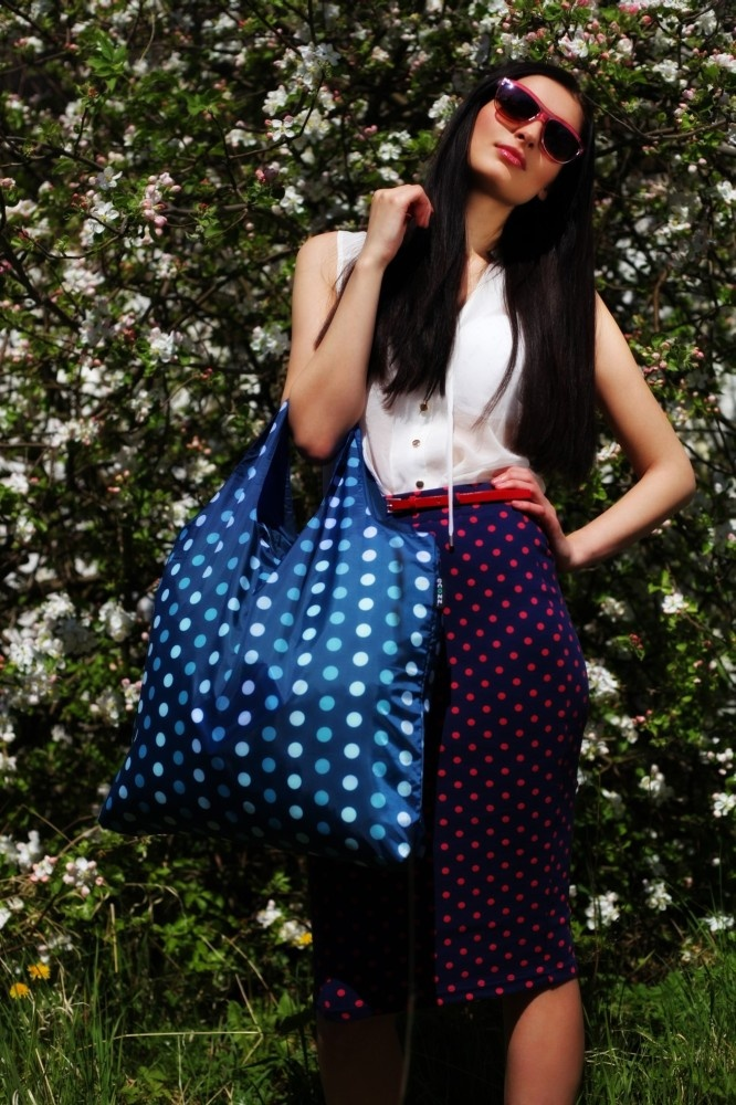 Dots 1 - ECOZZ Reusable Shopping Bag #ecozz $9.95