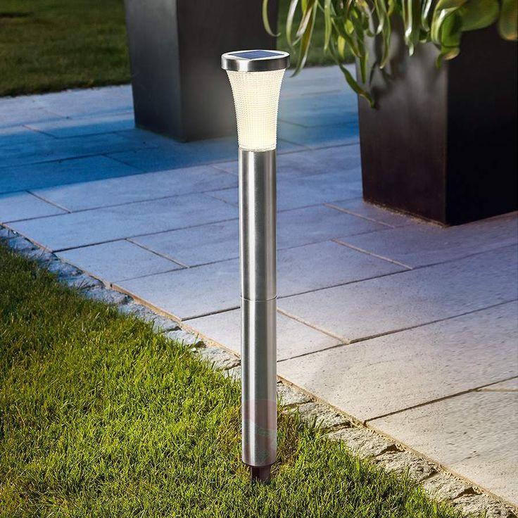 Lampada solare a LED con picchetto, disponibile sul sito Lampade.it col Numero articolo: 3012520