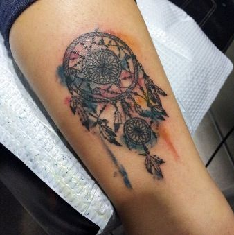 185 best images about dreamcatcher on pinterest for Watercolor dreamcatcher tattoo