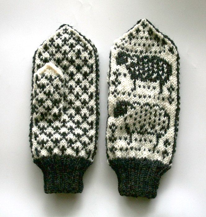 Meta Mittens - The Mitten Project - KNITTING