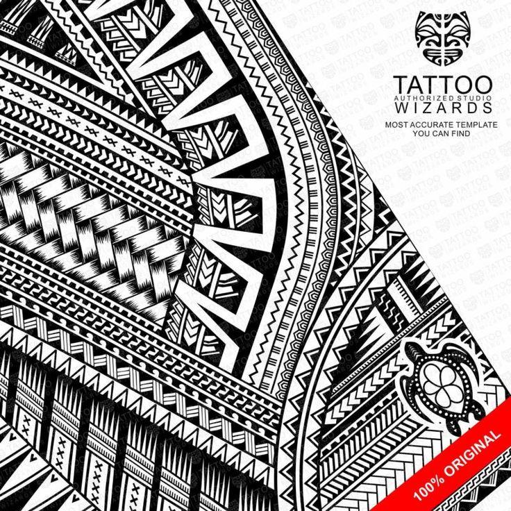 Roman Reigns Tattoo Stencil Template