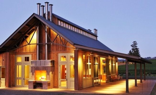 Natural Impression On Pole Home Building Floor Plans