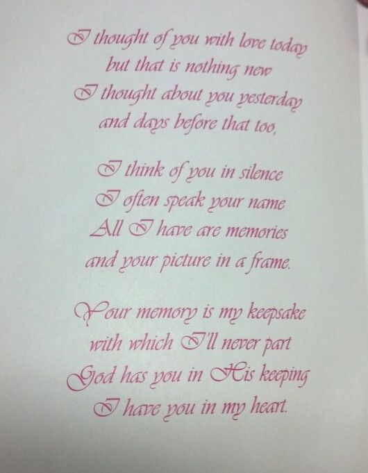 death poems for loved ones - photo #7