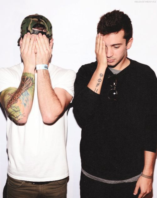 Twenty one pilots: When we gonna stop with it, lyrics that mean nothing, we were gifted with thought.