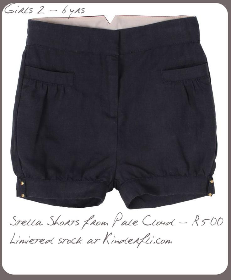 Stella Shorts from Pale Cloud at Kinderfli.com