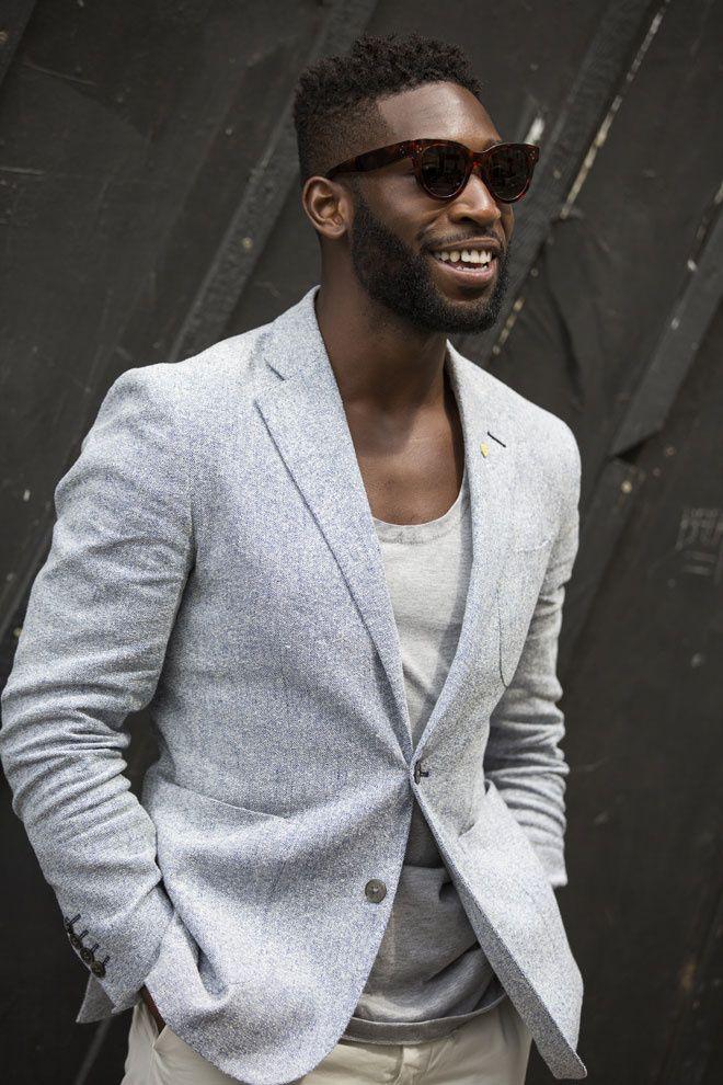 Street looks à la Fashion Week homme printemps-été 2016 de Londres   Vogue