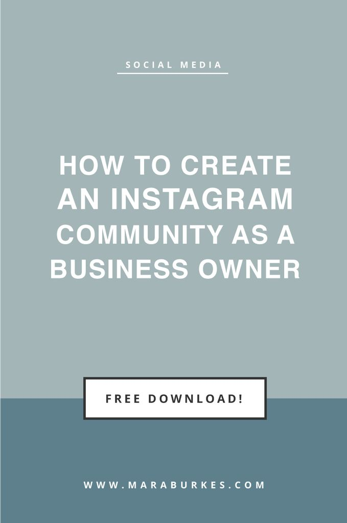 how to create a business instagram