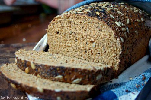 Whole Wheat Bread Recipe #TwelveLoaves January 2013 - tryanythingonceculinary.com
