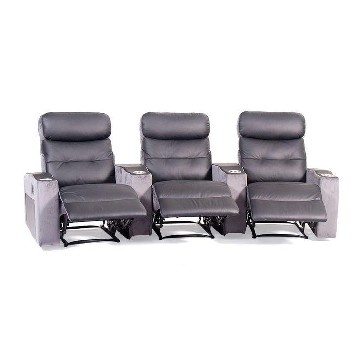 Capri 3 Seater Home Theatre - Discount Lounge Centre