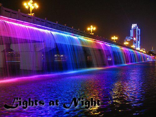 Amazing Lights. Feels like Heaven. Lights at Night #Lights