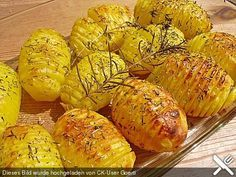 Akkordeon Kartoffeln (Hasselback Kartoffeln)