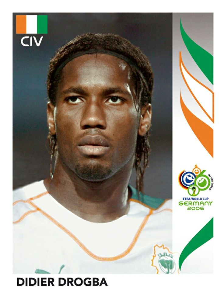 205 Didier Drogba - Cote D'Ivoire - FIFA World Cup Germany 2006