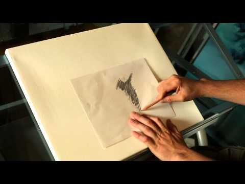 ▶ How to transfer your drawing or sketch to canvas with artist Tim Gagnon - YouTube