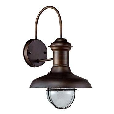 Un elegante Aplique de Pared Rústico para exterior con diseño industrial. Este aplique de luz exterior para jardín o porche que es novedad de ésta temporada