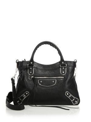 BALENCIAGA Metallic Edge Town Messenger. #balenciaga #bags #shoulder bags #hand bags #leather #metallic #