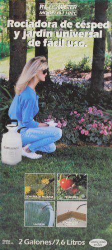 RL Flo-Master Universal Lawn & Garden 2 Gallon Pump Sprayer Model 1102C . $23.99. Adjustable Spray Nozzle. 2 Gallon (7.6 Liters) Capacity. Ergonomically Designed Pump Handle. Easy Pour Funnel Top. Pump Garden Sprayer