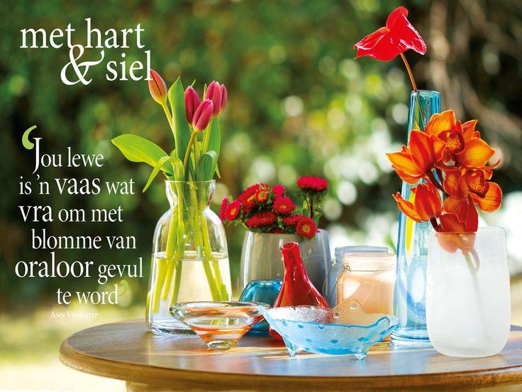 Vrolik/joyful, verjaarsdag/birthday, blomme/flowers  Fotograaf: Hanneri de Wet