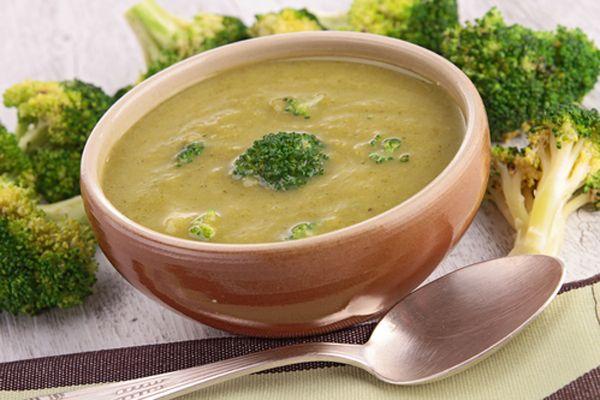 Σούπα μπρόκολο βελουτέ