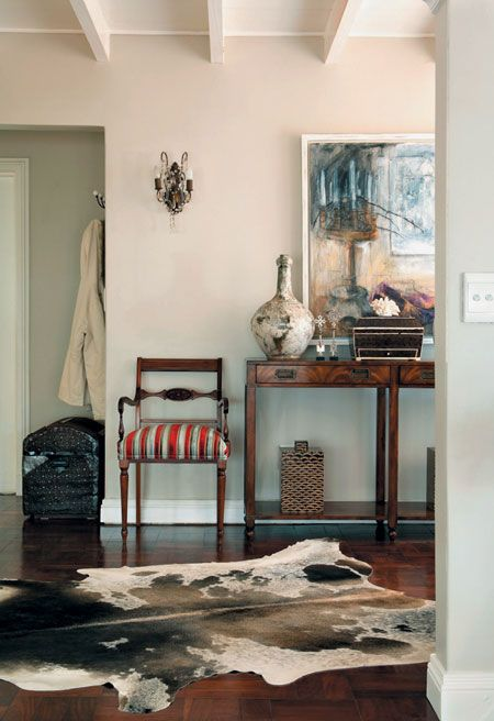 cow hide actually looking good like the chair: american colonial homes brandon inge