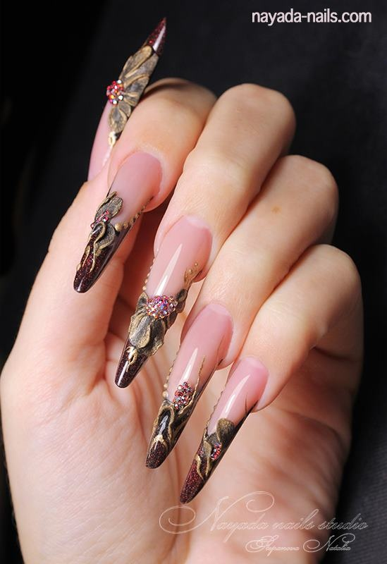 101 best competition nails images on pinterest long nails just beaufiful acrylic naila nail art prinsesfo Images