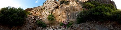 Η είσοδος του φαραγγιού του Χα, κοντά στην Ιεράπετρα