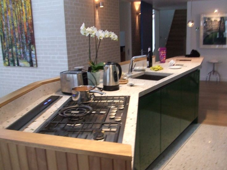 Kitchen Island Downdraft Extractor