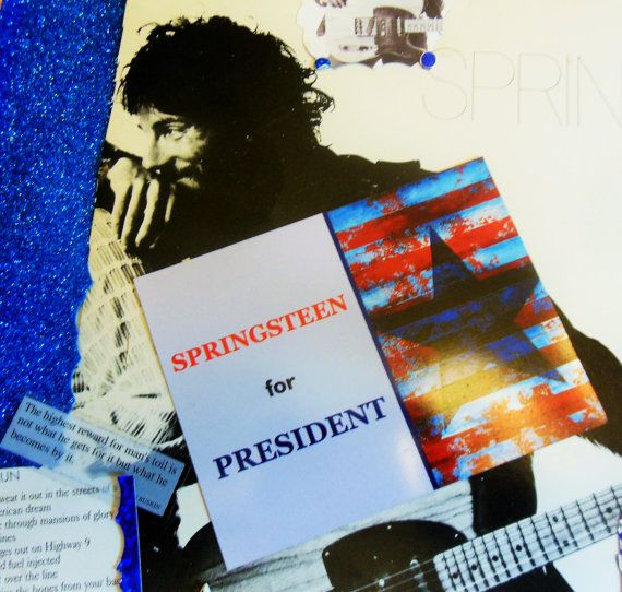 Bruce Springsteen large fridge magnet by borntolovebruce on Etsy