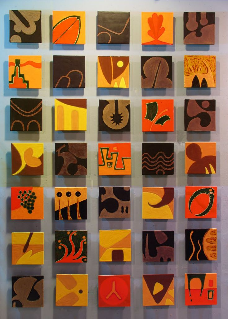 Bazaar - ceramic tile art mural by JasonMessingerArt.com
