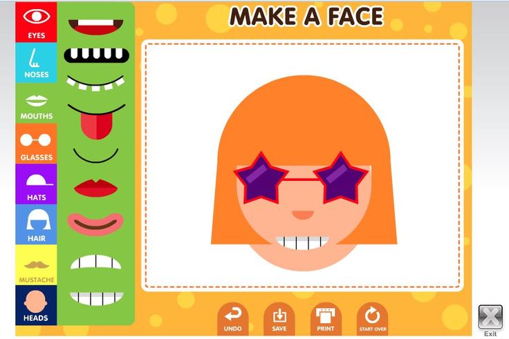 Make A Face Game