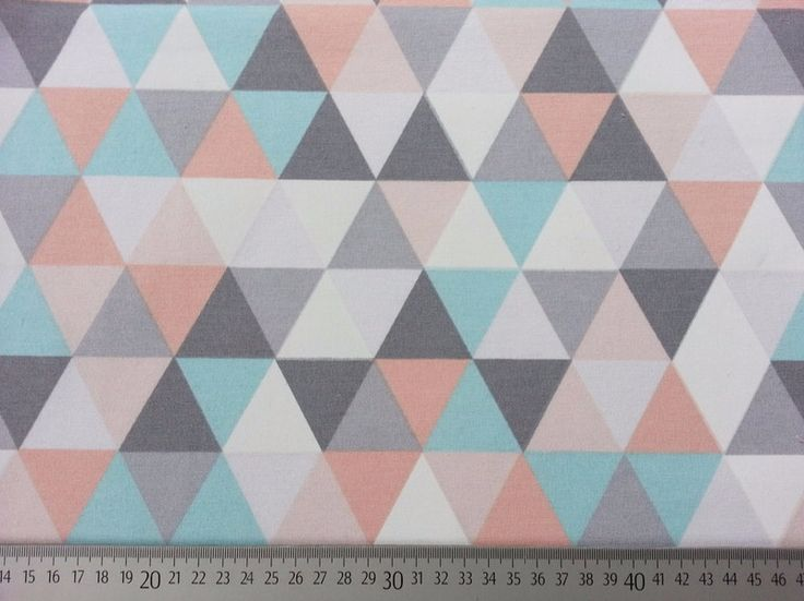 Stoff grafische Muster - Dekostoff Skandinavischer Look Dreiecke - ein Designerstück von Wunderland-der-Stoffe bei DaWanda